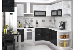 Kuchyňa na mieru VALENCIA BLACK STRIPE