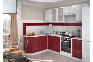 Kuchyňa na mieru VALENCIA white stripe/biely korpus