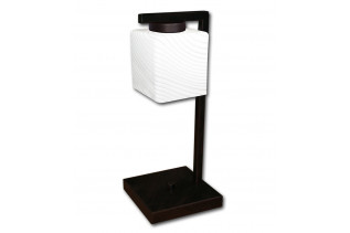 VEGA stolná lampa LIS 4634B, hnedá