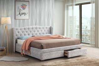 LOTOS čalúnená manželská posteľ 180