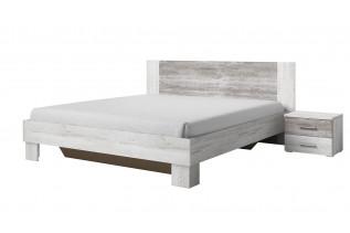 VIERA 160 manželská posteľ s nočnými stolíkmi