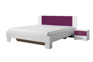 VIERA 180 manželská posteľ s nočnými stolíkmi