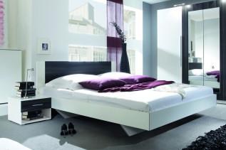 VIERA 860 manželská posteľ s nočnými stolíkmi