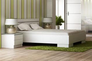 posteľ VISA 160 biela