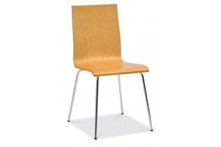 W-14 stolička, buk D09.