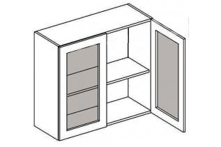 W80W MR horná vitrína 2-dverová - mrazené sklo PREMIUM