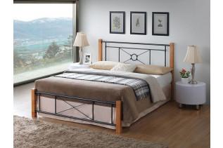 Kovová manželská posteľ CARDIFF 180