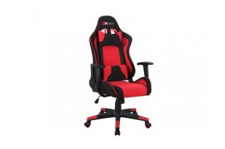 Kancelárske kreslo LEVIT, čierno-červené