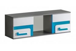 TITO závesná skrinka A10, modrá
