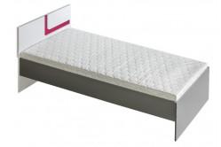 TITO single posteľ 90, ružová