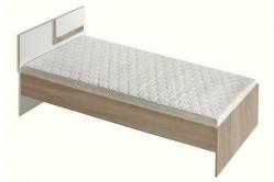 TITO single posteľ 90, dub svetlý