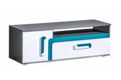 TITO TV stolík A17, modrá