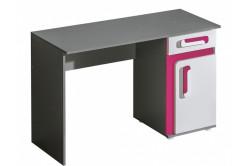 TITO písací stôl A9, ružová
