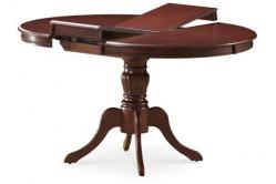 OLINA jedálenský rozkladací stôl, orech tmavý