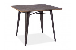 ALMAR jedálenský stôl, orech/grafit