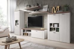 MORNO štýlová obývačka larche/sonoma trufel