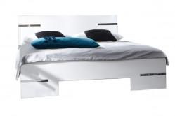 Manželská posteľ ANNY 293 alpská biela 180x200 cm
