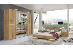 Moderná spálňa ANNY 131 dub planked