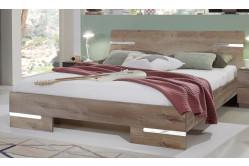 Moderná posteľ ANNY 292 dub muddy 140x190 cm