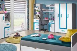 TITO detská izba na mieru, modrá