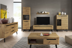 Moderná obývačka NORD dub artisan