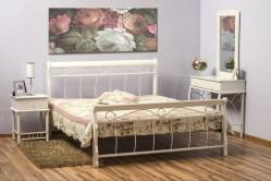 Kovová posteľ Benátky