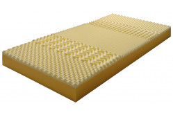 BRIGIT 7-zónová matrac 90 x 200, poťah Snow