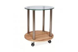 KARLA príručný stolík na kolieskach