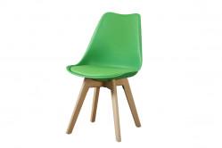 CROSS II jedálenská stolička, zelená