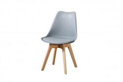 CROSS 2 jedálenská stolička, šedá