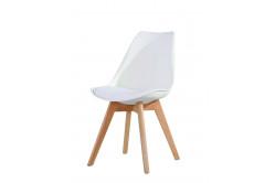 CROSS II jedálenská stolička, biela