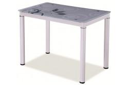 Jedálenský stôl TAMAR 100x60, biely