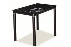 » Jedálenský stôl TAMAR 100x60, čierny