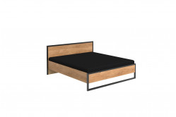 DERO 293 manželská posteľ s kovaním 180x200