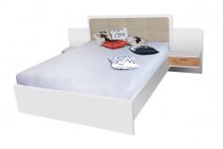 BANDI manželská posteľ so stolíkmi EF1L