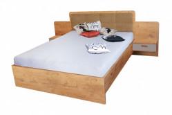 BANDI manželská posteľ so stolíkmi EF4L