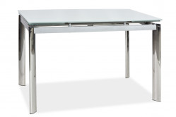 GT-020 rozkladací jedálenský stôl, biely