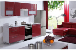 GALAXIA kuchyňa 240 cm, červená