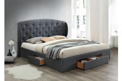 SELINA čalúnená manželská posteľ 160