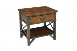 SONER drevený nočný stolík
