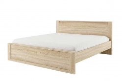 IDEAL 08 posteľ 180x200, dub sonoma