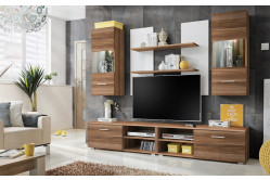 GOBA lacná obývacia stena, slivka