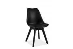 CRIS II jedálenská stolička, čierna/čierna