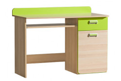 Písací stôl LIMO L10, zelený