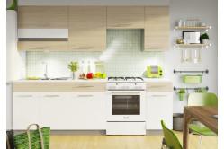 Kuchyňa MYA 240, picard/biely lesk
