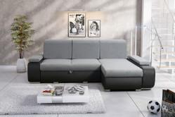 MILAGRO rohová sedačka, Blanca 2314/Madryt 1100