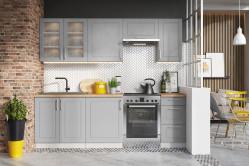 NATY kuchyňa 240 grey mat