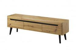 Moderný TV stolík NORD NRTV160 dub artisan