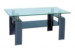 Konferenčný stolík STELA, šedý