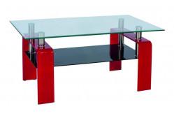 Konferenčný stolík STELA, červený